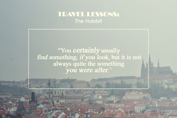 travel lessons the hobbit 1