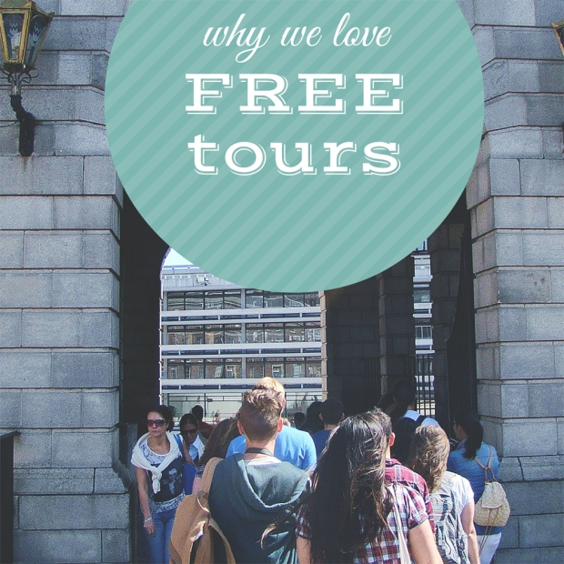 free walkign tours travelling europe