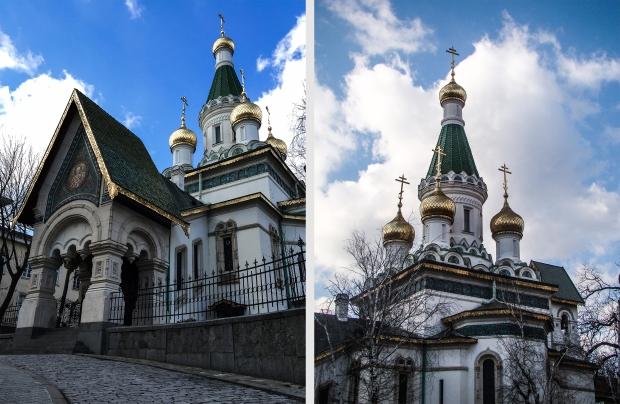 Russian Church St. Nicholas, Sofia, Bulgaria