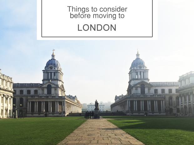 things to consider before moving to London