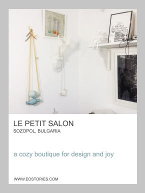 design boutique Le Petit Salon in the seaside town sozopol in bulgaria
