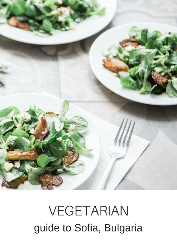 vegetarian vegan guide sofia bulgaria