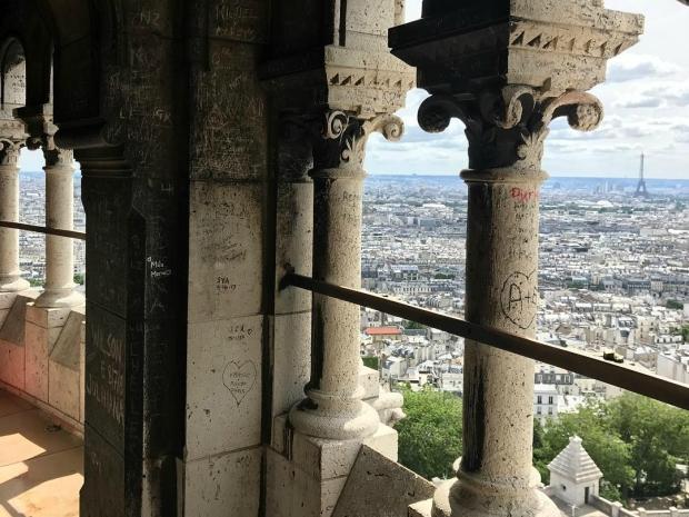 Paris Sacré Coeur travelling france