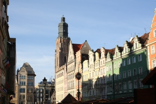 wroclaw old town square stary rynek